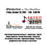 Oktoberfest @ The Wurlitzer 10/26/18