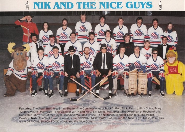 Rochester Americans - Nice Guys in the 80's disguised as the Rochester Americans hockey team!