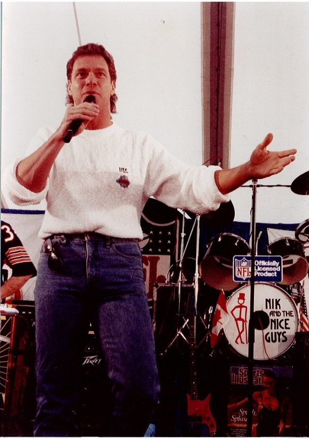 Joe Piscopo - Joe Piscopo performs on the Nik stage at a Super Bowl party in San Diego.