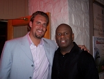 Ben Roethlisberger - Ben poses with Nik singer Loranzo Whitfield