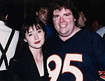 Shannon Dougherty - Shannon Dougherty (Beverly Hills 90210) is SO PSYCHED to pose with Nik Stage Manager Ron Carlson.